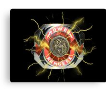 It's Morphin Time - SABER-TOOTH TIGER Canvas Print