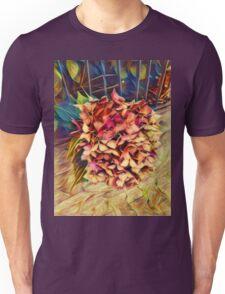 Fading Colors / Verblühter Farbwechsel Unisex T-Shirt