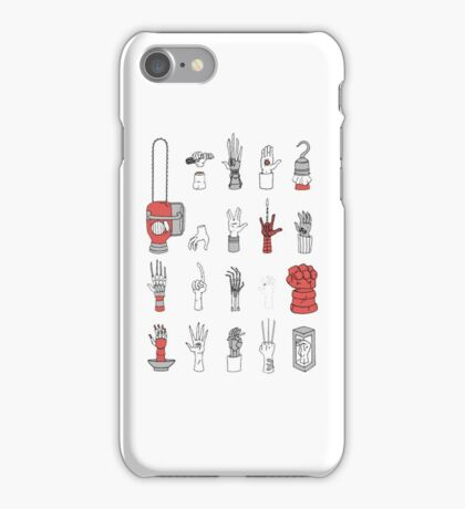 movies hands iPhone Case/Skin