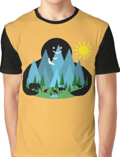 Nature Lover Graphic T-Shirt