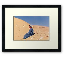 Young Man in Egypt Framed Print