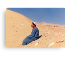 Young Man in Egypt Canvas Print