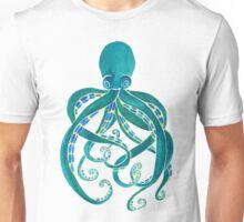 Watercolor Octopus Unisex T-Shirt