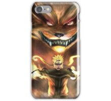 Naruto & Kurama iPhone Case/Skin