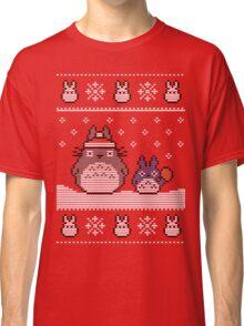 Santa-Totoro Christmas Sweater Classic T-Shirt