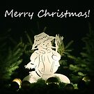 Christmas Snowman (Card) by Vicki Spindler (VHS Photography)