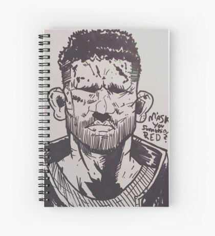 The Punisher Spiral Notebook