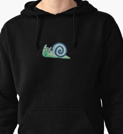 Droopy Snail Pullover Hoodie