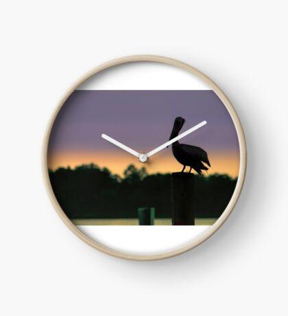 Pelican Watch Clock