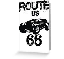 Custom Happynes is Route 66 lifestyle Greeting Card