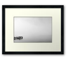 Looking for Loch Ness Framed Print