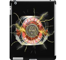 It's Morphin Time - SABER-TOOTH TIGER iPad Case/Skin