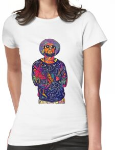 Abstract Schoolboy Q Womens Fitted T-Shirt