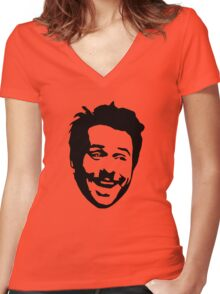 Charlie Day Women's Fitted V-Neck T-Shirt