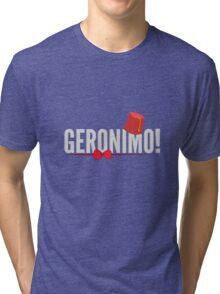 Doctor Who Geronimo! Tri-blend T-Shirt