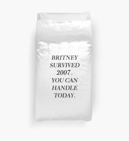 Britney Spears 2007 Duvet Cover