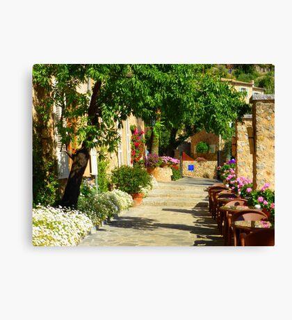 La Residencia Garden Path......................Majorca Canvas Print