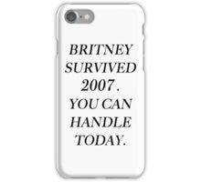 Britney Spears 2007 iPhone Case/Skin