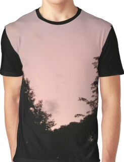 Fading Pink Graphic T-Shirt