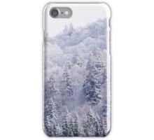 White Landscape iPhone Case/Skin