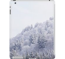 White Landscape iPad Case/Skin