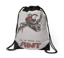 Ant Man - How To Train Your Ant Drawstring Bag