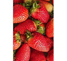 Fresh strawberries Photographic Print