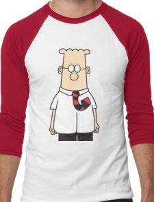 Dilbert  Men's Baseball ¾ T-Shirt