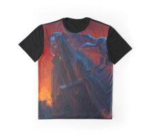 Woman with griffin Graphic T-Shirt