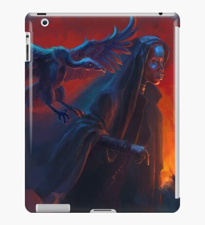 Woman with griffin iPad Case/Skin