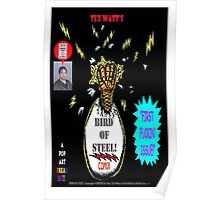 Bird of Steel Comix Cover - Red Bubble -NEW  UNDERGROUND POP ART SERIES! Poster