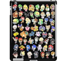 Super Smash Bros. All 58 Characters!  iPad Case/Skin