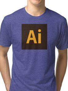 Adobe Illustrator Icon Tri-blend T-Shirt