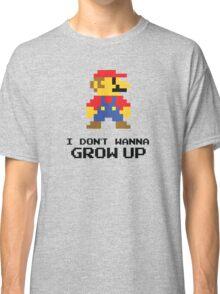 Mario - I Don't Wanna Grow Up Classic T-Shirt