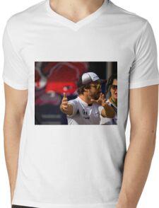 Fernando Alonso Mens V-Neck T-Shirt