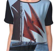 English Sail  Chiffon Top
