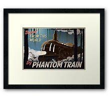 Final Fantasy VI - Come Ride the Phantom Train Framed Print