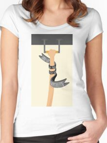 Northern Line (LondonTube) Women's Fitted Scoop T-Shirt