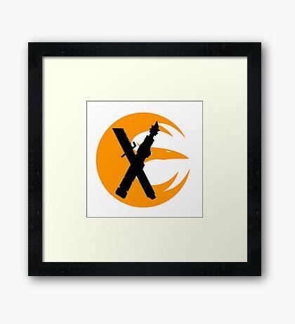 Saber Starbird Framed Print