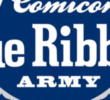 Blue Ribbon Army Sticker