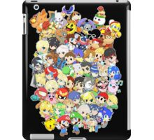 Super Smash Bros. All 58 Characters! Group iPad Case/Skin