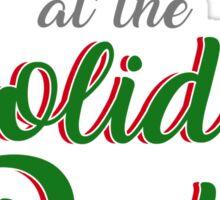 Panicking Holidays Sticker