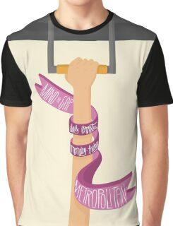 Metropolitan Line (LondonTube) Graphic T-Shirt