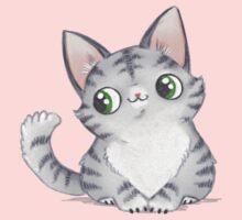 Grey Kitten Kids Tee