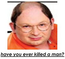 imitation george costanza killed a man Photographic Print