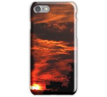 The Burning Sky - Buldern, Germany iPhone Case/Skin