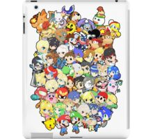 Super Smash Bros. All 58 Characters!! Group iPad Case/Skin