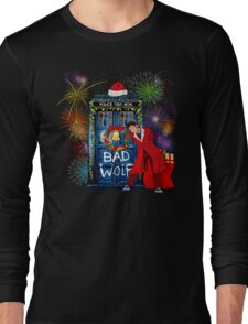 Happy New year from 10th Doctor Long Sleeve T-Shirt