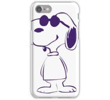 Snoopy con gafas iPhone Case/Skin