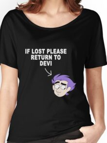 If lost return to Devi Women's Relaxed Fit T-Shirt